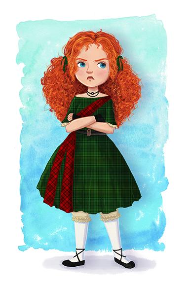 little scots girl