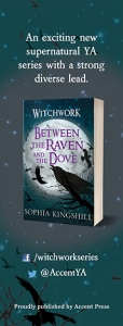 Between the Raven Bookmark Front