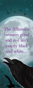 Between the Raven Bookmark Front