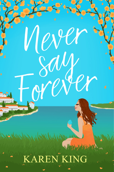 never say forever peach Karen King