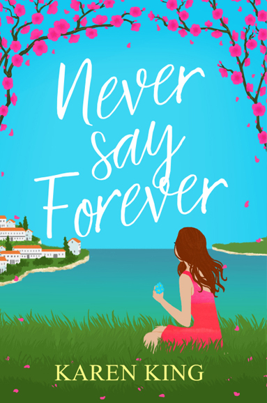 never say forever pink Karen King