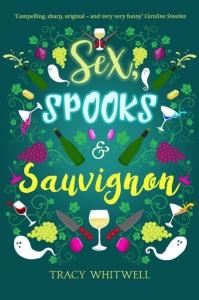 sex spooks & sauvignon Tracy Whitwell