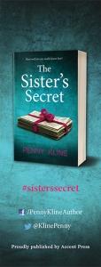 The Sister's Secret bookmark back