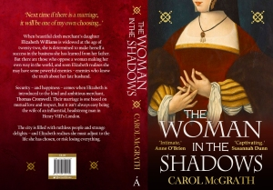 Print wrap for 'The Woman in the Shadows'